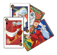 InuYasha playing cards Misc