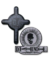 Death Note: Skull and Cross Pin