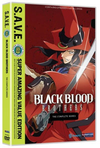 Black Blood Brothers: The Complete Series (S.A.V.E.) DVD
