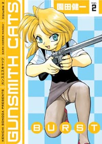 Gunsmith Cats: Burst 2 Manga