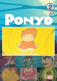 Ponyo on the Cliff by the Sea Film Comic 2 Manga