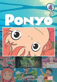 Ponyo on the Cliff by the Sea Film Comic 4 Manga