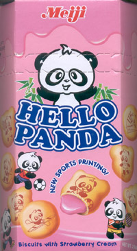 Hello Panda: Strawberry Snack