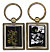 Samurai Champloo: Spinner Black/White (Metal)Key