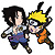 Naruto Shippuden: Naruto and SasukePatch