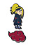 Naruto Shippuden: SD Deidara and CloudPin