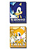 Sonic: Sonic and Tails Square (PVC)Pin