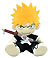 Bleach: Ichigo sittingPlush