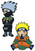 Naruto: Kakashi and Naruto (movie)Pin