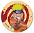Naruto: Naruto button (large)Pin