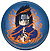 Naruto: Sasuke button (large)Pin