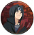 Naruto: Itachi button (large)Pin