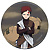 Naruto: Gaara button (large)Pin