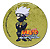Naruto: Kakashi button (large)Pin