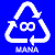 Recycle Mana (Large)T-Shirt